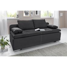 COLLECTION AB slaapbank, Met bedfunctie en opbergruimte, vrije plaatsing in de kamer, inclusief losse armleuning- rugkussens