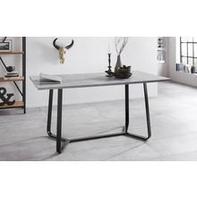 HOMEXPERTS table de salle à manger, largeur 140 ou 160 cm