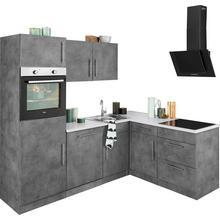 WIHO KUCHEN cuisine d'angle Cali, sans appareil électrique, largeur de pose 230 x 170 cm