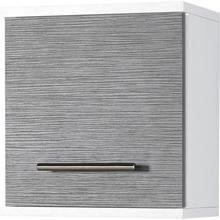 SCHILDMEYER armoire suspendue Palermo, Largeur 30 cm, étagère réglable, charnière de porte interchangeable, poignée métallique