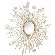 HOME AFFAIRE miroir décoratif, avec des éléments décoratifs en