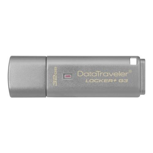 KINGSTON DataTraveler Locker+ G3 - USB-flashstation gecodeerd 32 GB USB 3.0