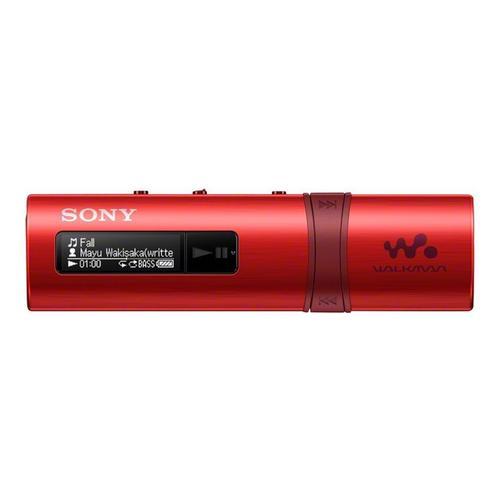 SONY Walkman NWZ-B183F - Digitale speler 4 GB rood