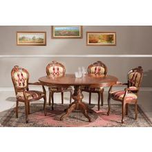 table de salle à manger MICHELANGELO 909, Largeur 120 cm