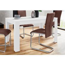 HOMEXPERTS table de salle à manger Nick, Largeur 140 cm