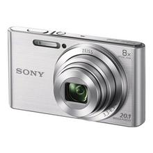 SONY Cyber-shot DSC-W830 - Digitale camera compact 20.1 MP 720p 8x optische zoom zilver