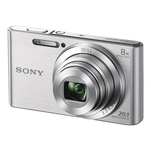 SONY Cyber-shot DSC-W830 - Appareil photo numérique compact 20.1 MP 720 p 8x zoom optique argent