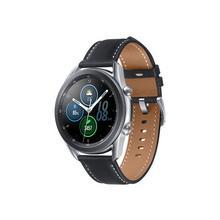 "SAMSUNG Galaxy Watch 3 - 45 mm argent mystique montre intelligente avec bande cuir affichage 1.4"" 8 Go 4.3 Wi-Fi, NFC, Bluetooth 53.8 g"