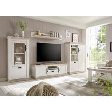 HOME AFFAIRE meuble TV Florenz, en style maison de campagne romantique, largeur 156cm