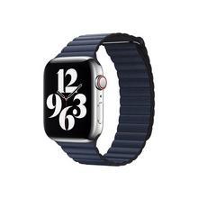 APPLE 44mm Leather Loop - Horlogebandje voor smart watch groot duikersblauw (42 mm, 44 mm)