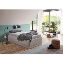 WESTFALIA SCHLAFKOMFORT lit rembourré Texel, avec coussins décoratifs, hauteur de confort