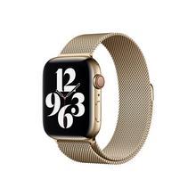 APPLE 44mm Milanese Loop - Horlogebandje voor smart watch standaardmaat goud (42 mm, 44 mm)