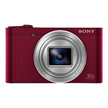 SONY Cyber-shot DSC-WX500 - Digitale camera compact 18.2 MP 30x optische zoom ZEISS Wi-Fi, NFC rood