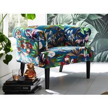 ATLANTIC HOME COLLECTION fauteuil, Fauteuil de salon avec sommier à ressorts zigzag