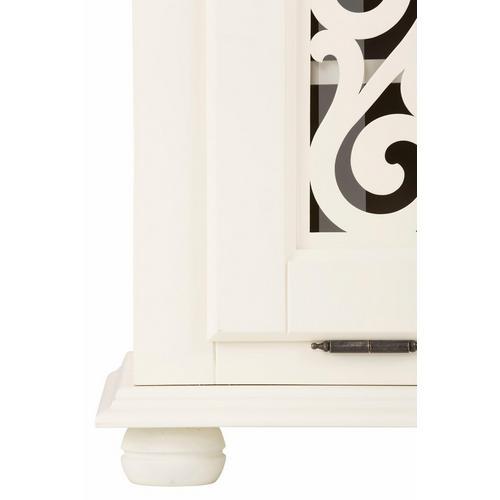 HOME AFFAIRE commode à chaussures Arabeske, avec de beaux ornements sur les façades des portes basculantes, largeur 90 cm