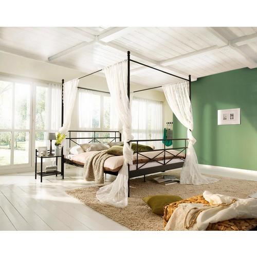 HOME AFFAIRE metalen bed Thora, Van een mooie frame, in verschillende bedbreedten en kleuren