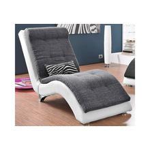 COLLECTION AB fauteuil de relaxation, avec coussin pour les reins en motif zébré,structure cuir synthétique SOFTLUX® haute qualité