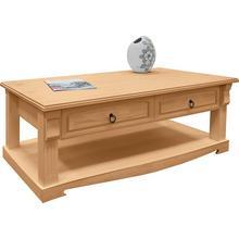 HOME AFFAIRE table basse Anna, avec 2 tiroirs en pin massif
