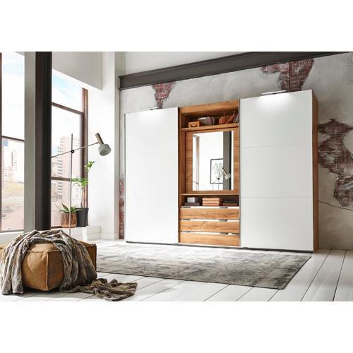 FRESH TO GO armoire à portes flottantes Magic, avec porte miroir pivotante