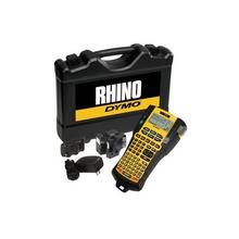 DYMO Rhino 5200 - Hard Case Kit etikettenmaker monochroom Rol (1,9 cm) geel