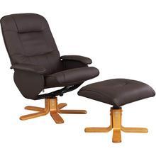 HOME AFFAIRE fauteuil de relaxation Nice, avec pouf