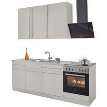 WIHO KUCHEN bloc de cuisine Chicago, sans appareil électrique, largeur 220 cm