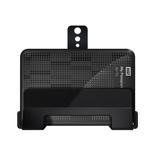 WESTERN DIGITAL WD My Passport AV-TV WDBHDK5000ABK - Vaste schijf 500 GB extern (draagbaar) USB 3.0 zwart