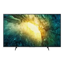 "SONY KD-65X7056 - 65"" Klasse (64.5"" zichtbaar) BRAVIA X7056 Series LED-tv Smart TV Linux 4K UHD (2160p) 3840 x 2160 HDR direct brandende led zwart"