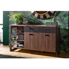 HOME AFFAIRE sideboard Detroit, Breedte 150 cm, in trendy industriële look