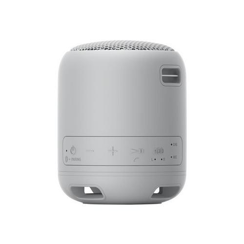 SONY SRS-XB12 - Haut-parleur pour utilisation mobile sans fil Bluetooth gris