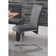 HOMEXPERTS chaise de salle à manger Mulan, lot 2, (2 pièces), housse en cuir synthétique