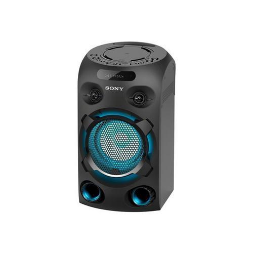 SONY MHC-V02 - Audiosysteem zwart