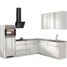 WIHO KUCHEN cuisine d'angle Chicago, sans appareil électrique, largeur de réglage 260 x 220 cm