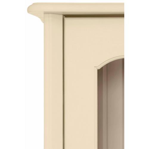 HOME AFFAIRE vitrine Lebo, en pin massif, largeur : 108 cm