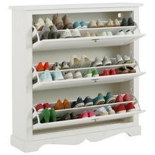 HOME AFFAIRE armoire à chaussures Teo, avec 3 rabats, largeur 120 cm