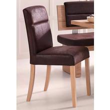 chaise à 4 pieds Cara, lot de 2, Ensemble 2 pièces