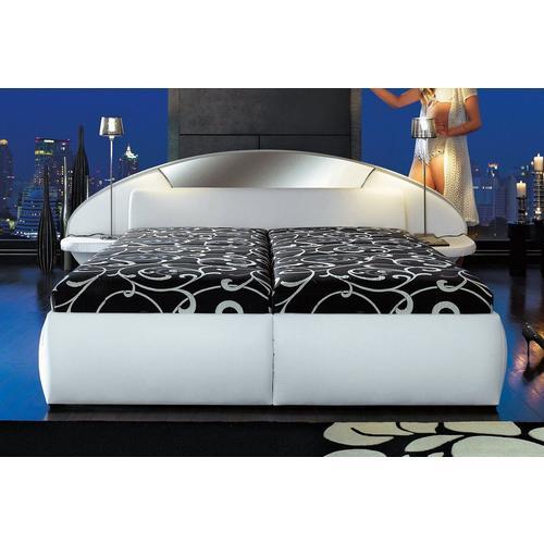 HAPO gepolsterd bed, Met bedkist