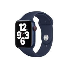 APPLE 44mm Sport Band - Bracelet de montre pour intelligente taille S/M & M/L marine profond Watch (42 mm, 44 mm)