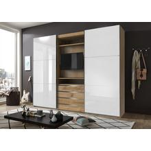 FRESH TO GO armoire à portes flottantes Magic, avec un élément de télévision rotatif