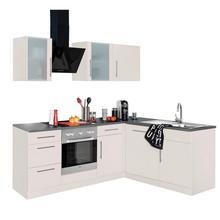 WIHO KUCHEN cuisine d'angle Cali, sans appareil électrique, largeur de réglage 220 x 170 cm