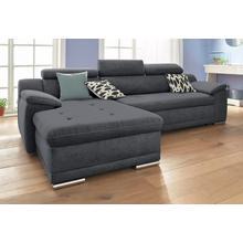SIT & MORE canapé d'angle, avec fonction lit en option