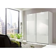 WIMEX armoire à portes flottantes Easy, avec un verre partiel