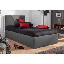 WESTFALIA SCHLAFKOMFORT lit rembourré Malibu, en option avec espace de rangement, couverture similicuir