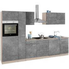 WIHO KUCHEN bloc de cuisine Zell, sans appareil électrique, largeur 310 cm