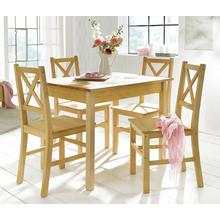 HOME AFFAIRE ensemble voor eettafel, 5-delig, Met kleine of grote tafel