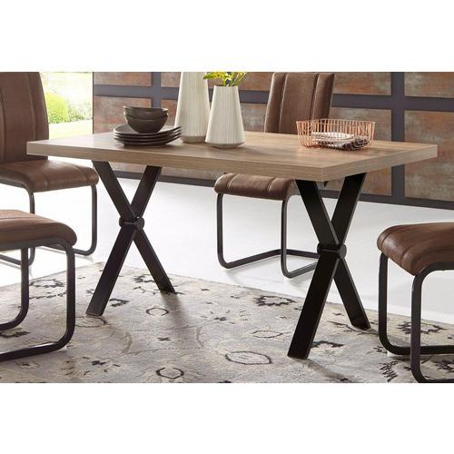 HOMEXPERTS table de salle à manger Colt, Largeur 140 cm