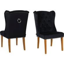 HOME AFFAIRE chaise de salle à manger Liao, avec dossier fauteuil oreilles et noble capitonnage dans le