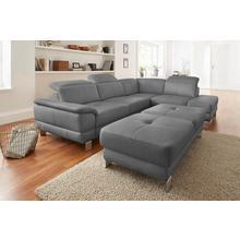 EXXPO - SOFA FASHION canapé d'angle, avec fonction lit en option