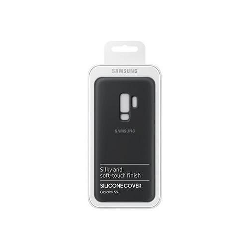 SAMSUNG Silicone Cover EF-PG965 - Coque de protection pour téléphone portable noir Galaxy S9+, S9+ Deluxe Edition