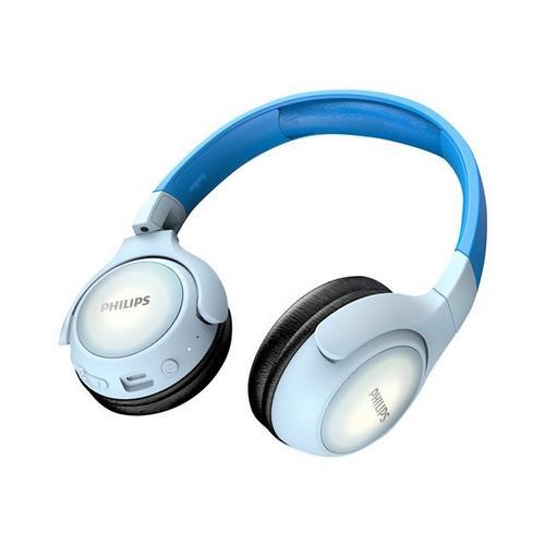 PHILIPS TAKH402BL - Écouteurs avec micro sur-oreille Bluetooth sans fil bleu